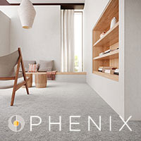Featuring Phenix carpets with Microban technology.