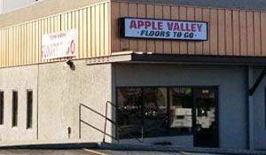 Apple Valley Floors To Go showroom exterior